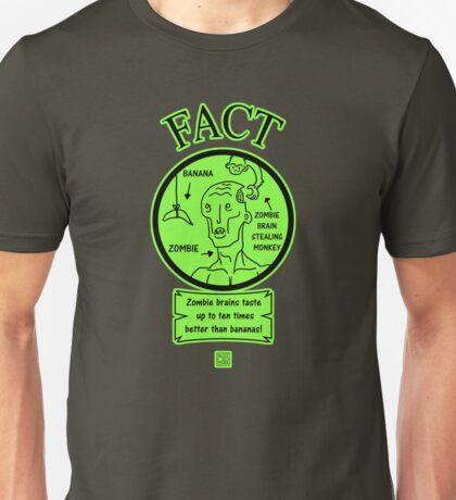 Zombie brain stealing monkey  Unisex T-Shirt