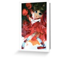 Bounded Greeting Card