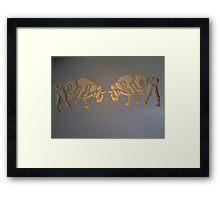 Celtic bulls Framed Print