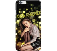 Anna Kendrick Lights iPhone Case/Skin
