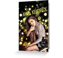Anna Kendrick Lights Greeting Card