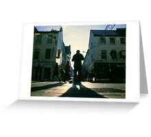 fiddler on marlboro street Greeting Card