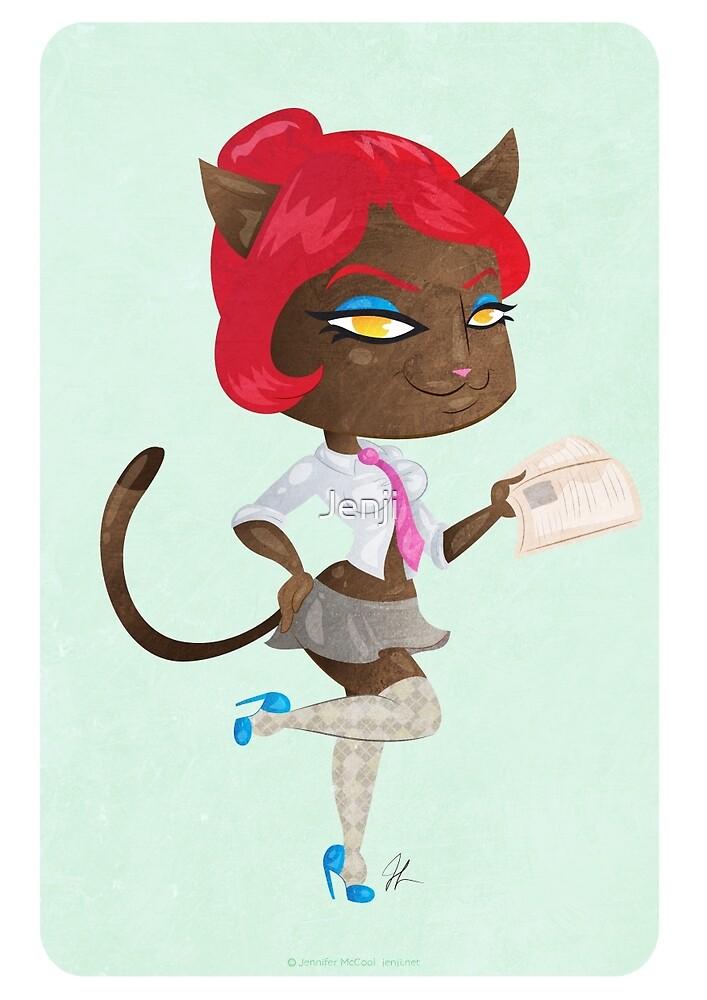 Kitty girl three by Jenji