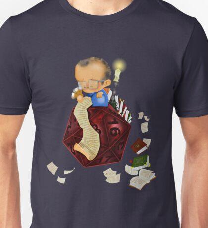 20 sided dice Unisex T-Shirt