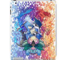 Pokemon XY Mega Evolutions iPad Case/Skin
