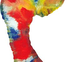 Footprint - Color art by Vitalia