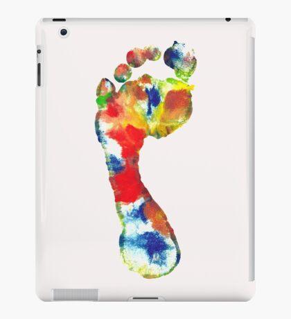 Footprint - Color art iPad Case/Skin