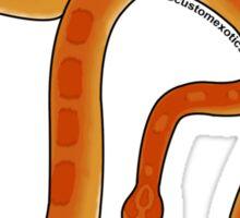 Normal Corn Snake Art  Sticker