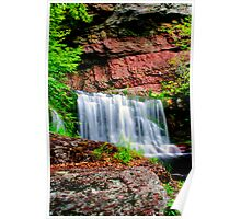 Lower Indian Ladder Falls Poster