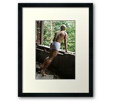 Barracks of youth Framed Print