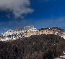 La chiesetta sotto le Dolomiti by Andrea Rapisarda