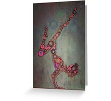 Yoga Art 2 Greeting Card