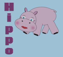 Pink Hippo 2 Kids Clothes