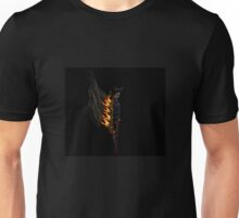 Flaming Zombie Gunslinger Unisex T-Shirt