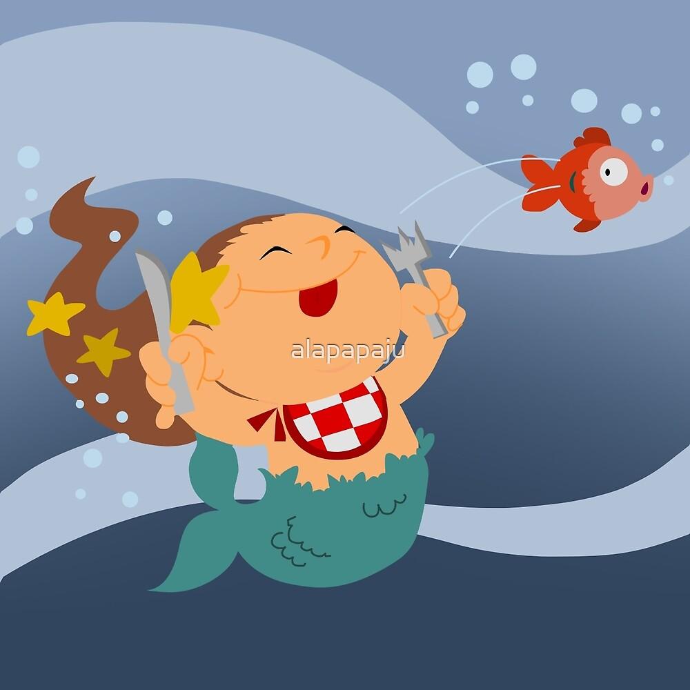 little mermaid by alapapaju