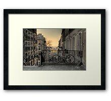 Morning in Montmartre Framed Print