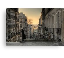 Morning in Montmartre Canvas Print