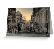 Morning in Montmartre Greeting Card