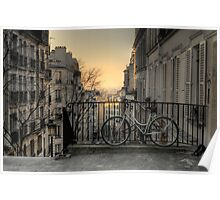 Morning in Montmartre Poster