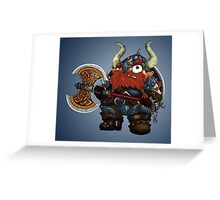 Dwarf Greeting Card