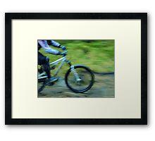Speed Bike Framed Print
