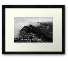 Aonach Eagach Ridge Framed Print