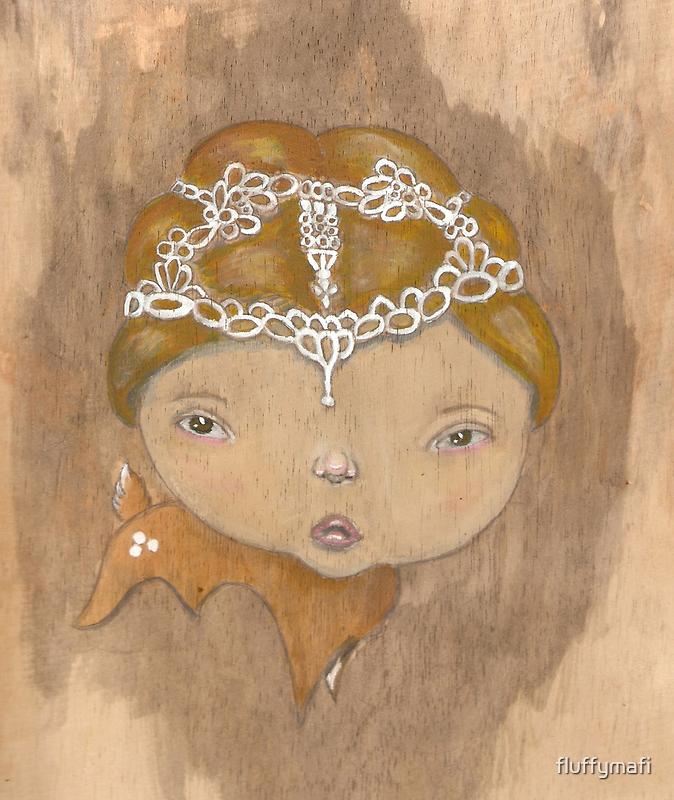 Forest Princess by fluffymafi