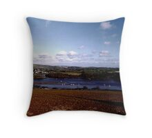 The River Dart - 2 Throw Pillow