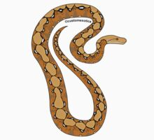 Normal Reticulated Python Art by CustomExotics