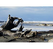 The Waves at Ocean Shores, Washington Photographic Print