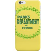 Pawnee Parks and Rec iPhone Case/Skin