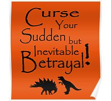 Curse Your Sudden But Inevitable Betrayal Poster