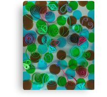 Quilled Paper Series 4 Canvas Print