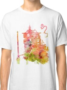 Spirited Away Bath House Watercolor Classic T-Shirt