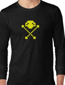 Frogger Skull  Long Sleeve T-Shirt