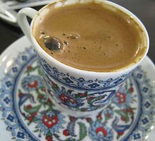 turkish coffee, Istanbul by Catherine Young