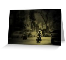 Motorini Greeting Card