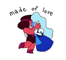 made of love Photographic Print