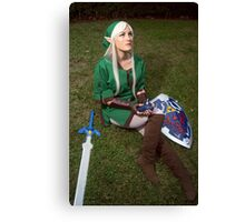 Song of Time Link Cosplay Print Canvas Print