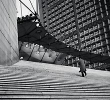 Climbing - La Défense, France - 2009 by Nicolas Perriault