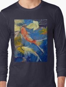 Autumn Koi Garden Long Sleeve T-Shirt
