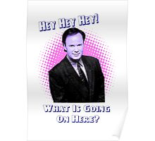 Mr Belding Saved By the bell Hey Hey Hey Poster