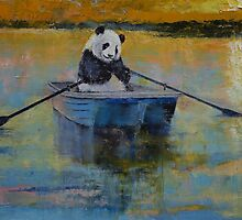 Panda Reflections by Michael Creese