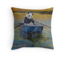 Panda Reflections Throw Pillow