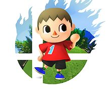 Smash Villager by Jp-3