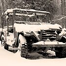 Snow Jeep by Brad Staggs