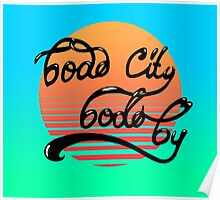 Bodø City Summer Poster