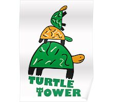 Turtle Tower Poster