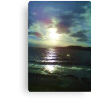 Nature of sea paint Canvas Print