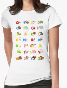 ABC (spanish) Womens Fitted T-Shirt